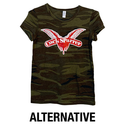 Cock Sparrer - Wings - Camo - T-Shirt - Fitted