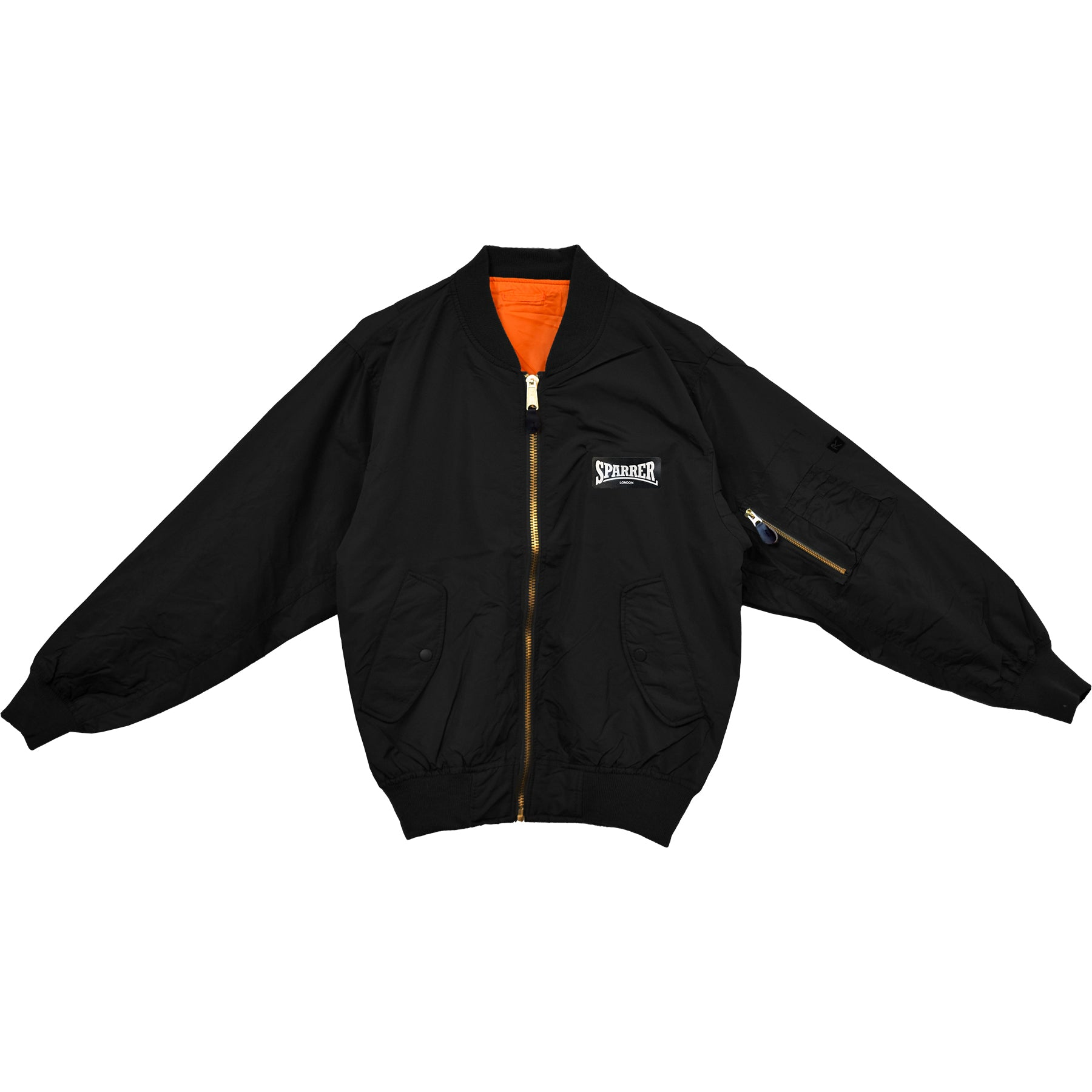 Cock Sparrer - Sparrer London - Bomber Jacket - Black - Fitted