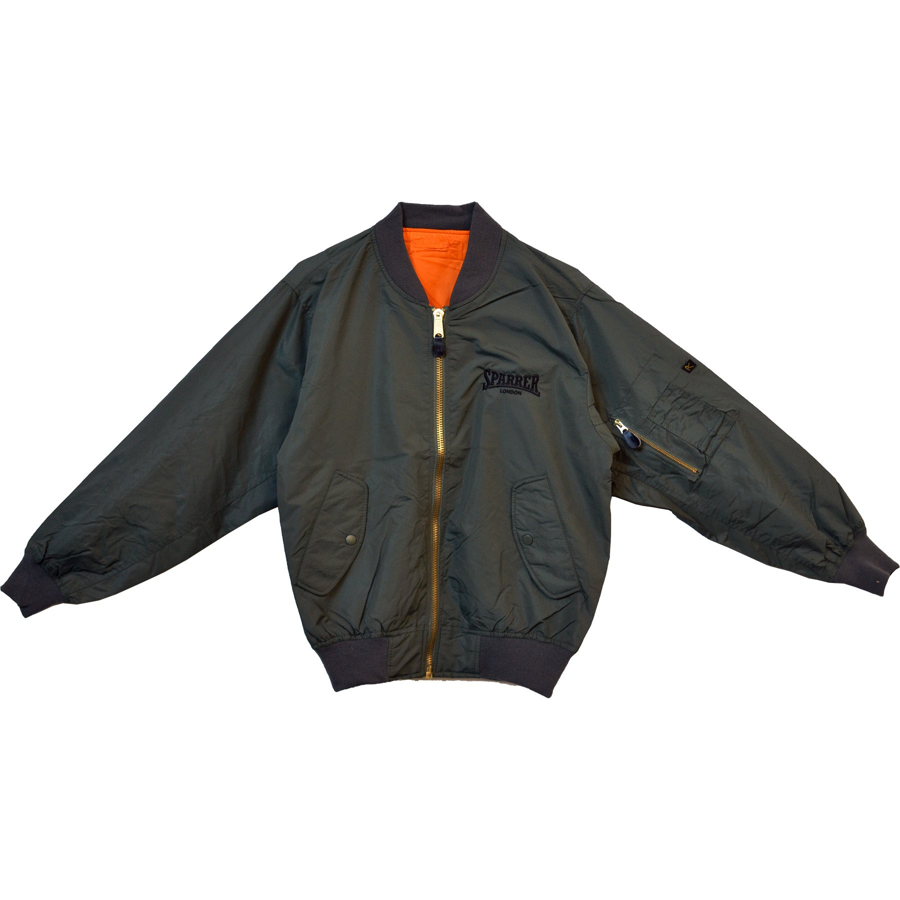Cock Sparrer - Sparrer London - Bomber Jacket - Green