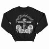 The Old Firm Casuals - Crucified White Roses - Black - Crewneck Sweatshirt