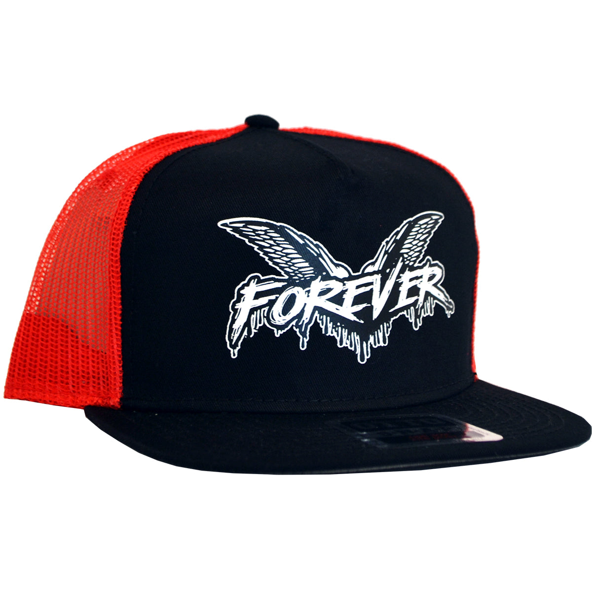 Cock Sparrer - Forever - Black w/ Red Mesh - Otto Snapback Hat