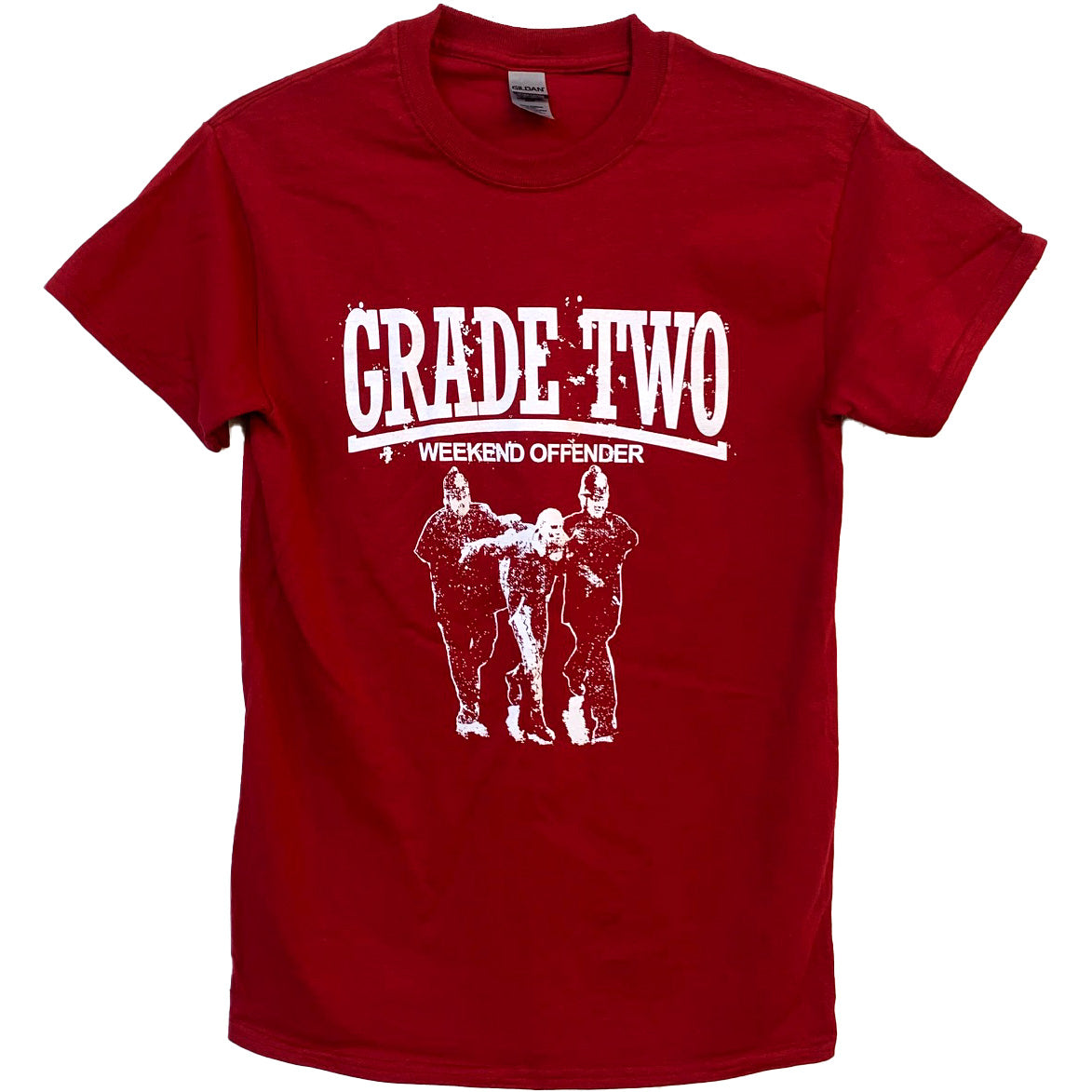 Grade 2 - Weekend Offender - Burgundy - T-Shirt