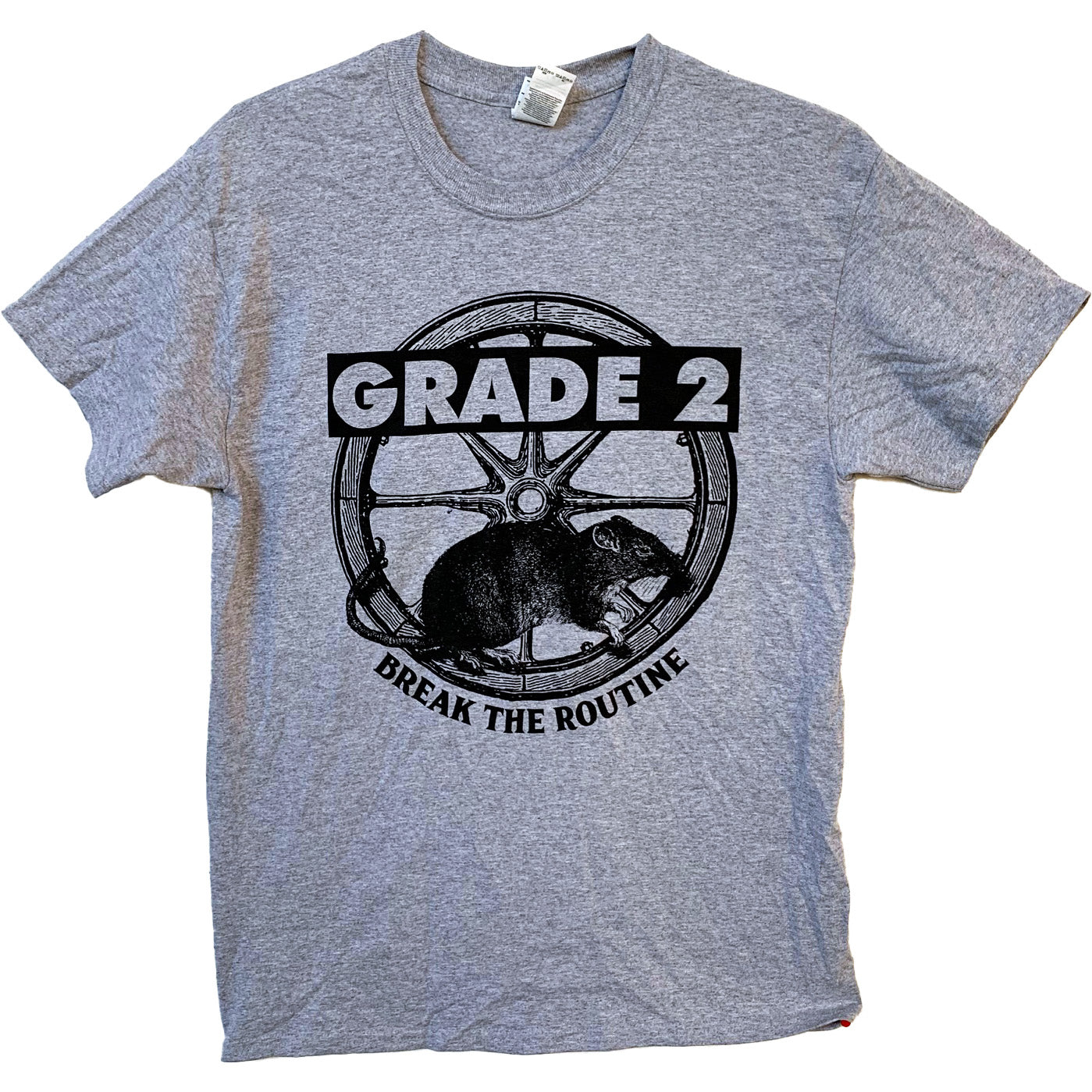 Grade 2 - Break The Routine - Grey - T-Shirt