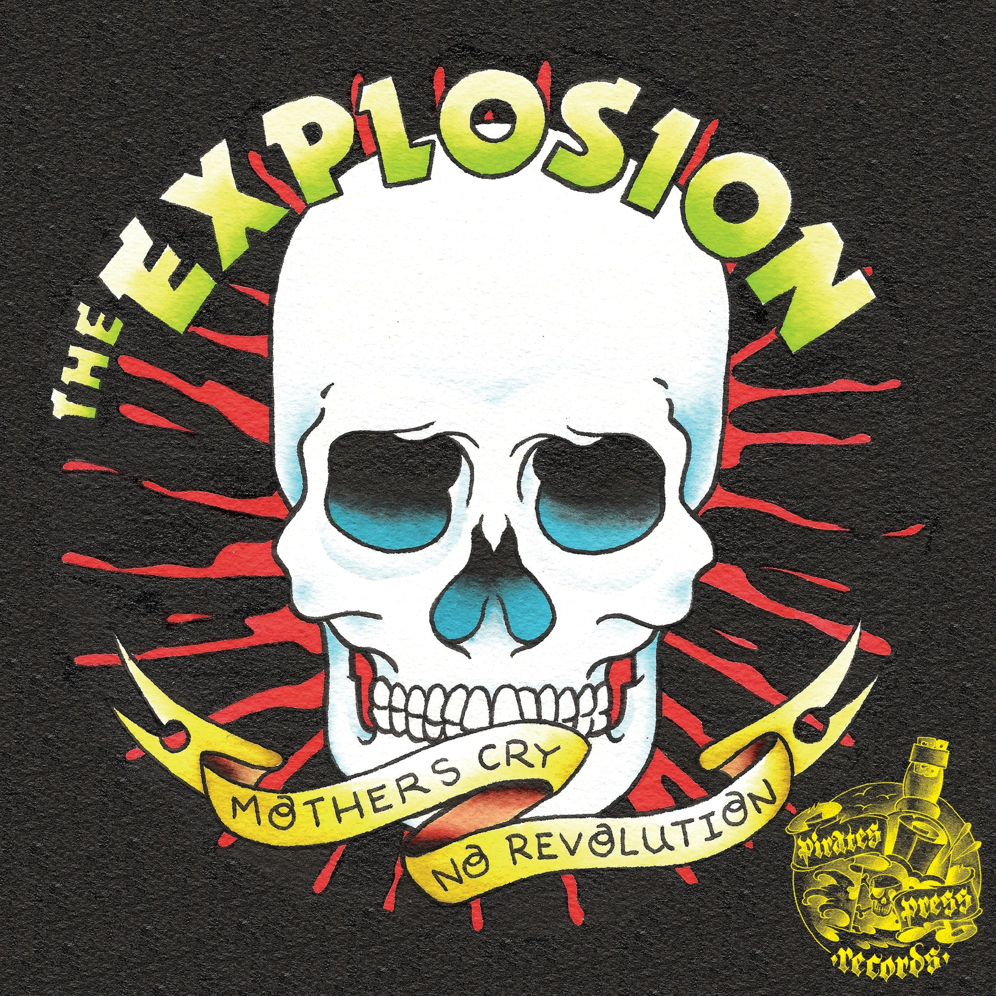 The Explosion / Street Brats Split 7""