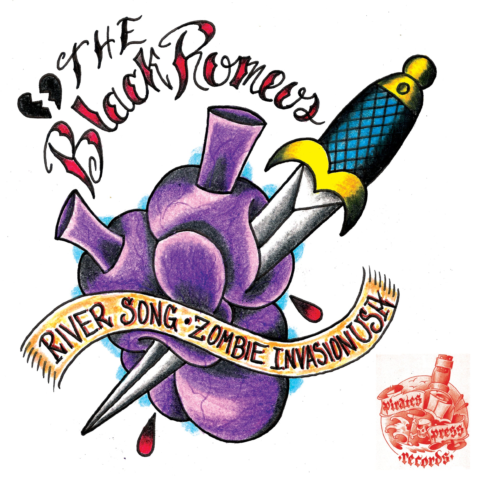 The Black Romeos / The Sore Thumbs - Split 7""