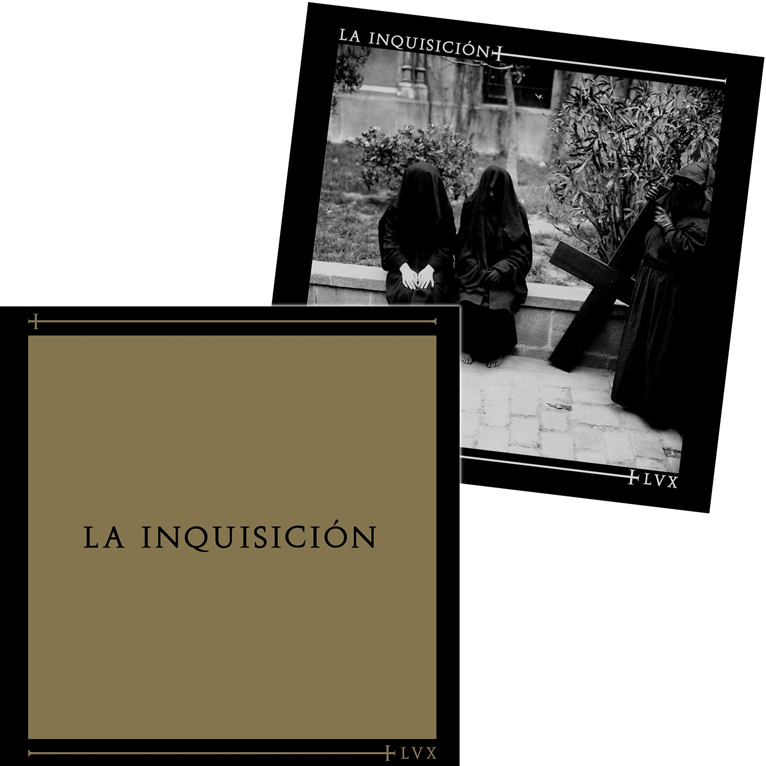 "LA INQUISICION - ""LVX"" LP - Black Vinyl w/ ltd. cover"