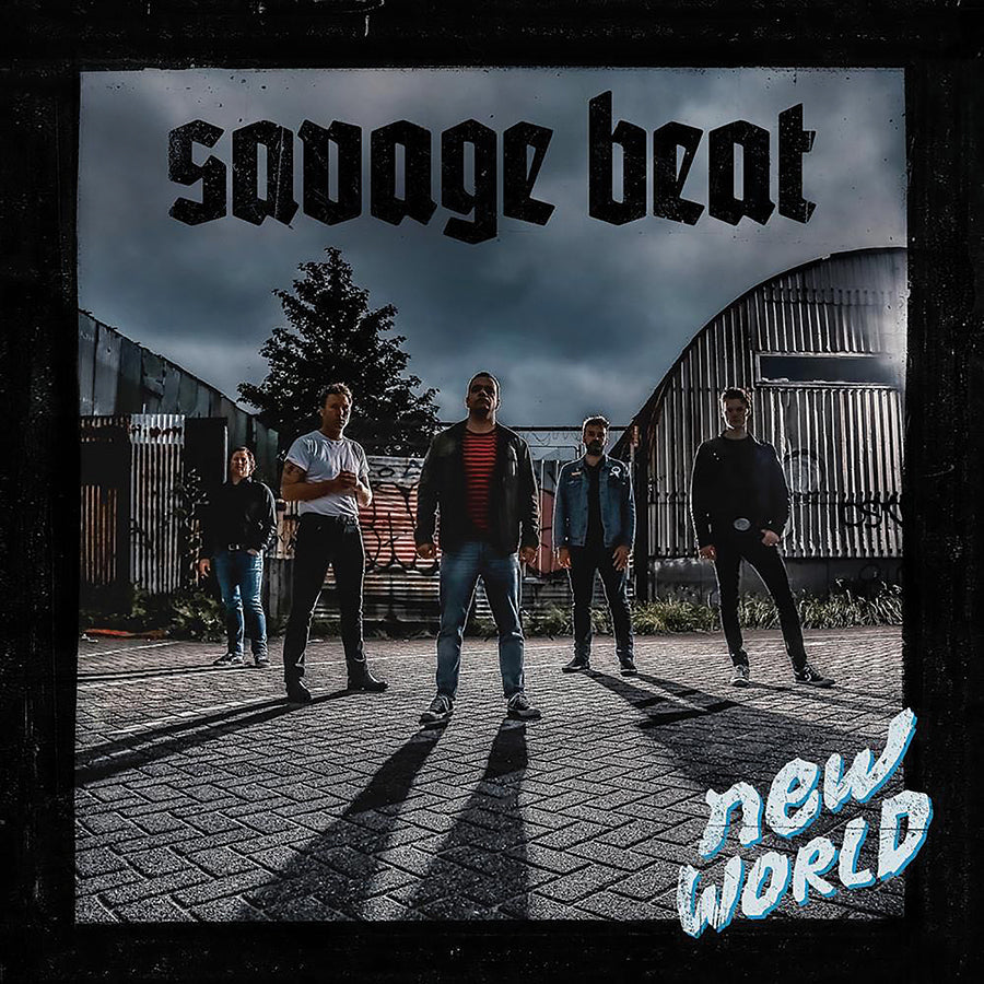 "SAVAGE BEAT - ""New World"" 12"" MLP"