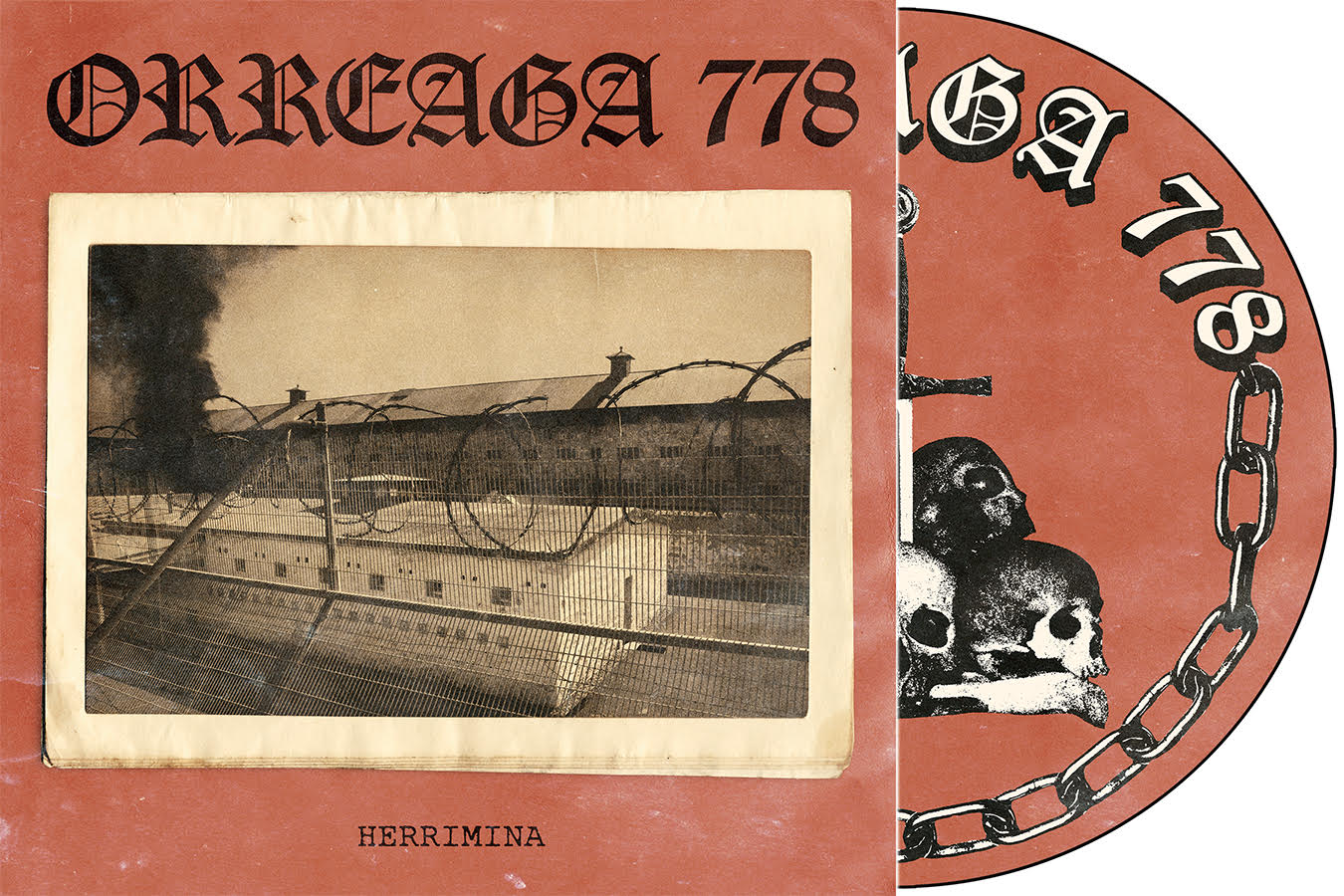 "ORREAGA 778 - ""Herrimina"" 12"" Picture Disc LP"