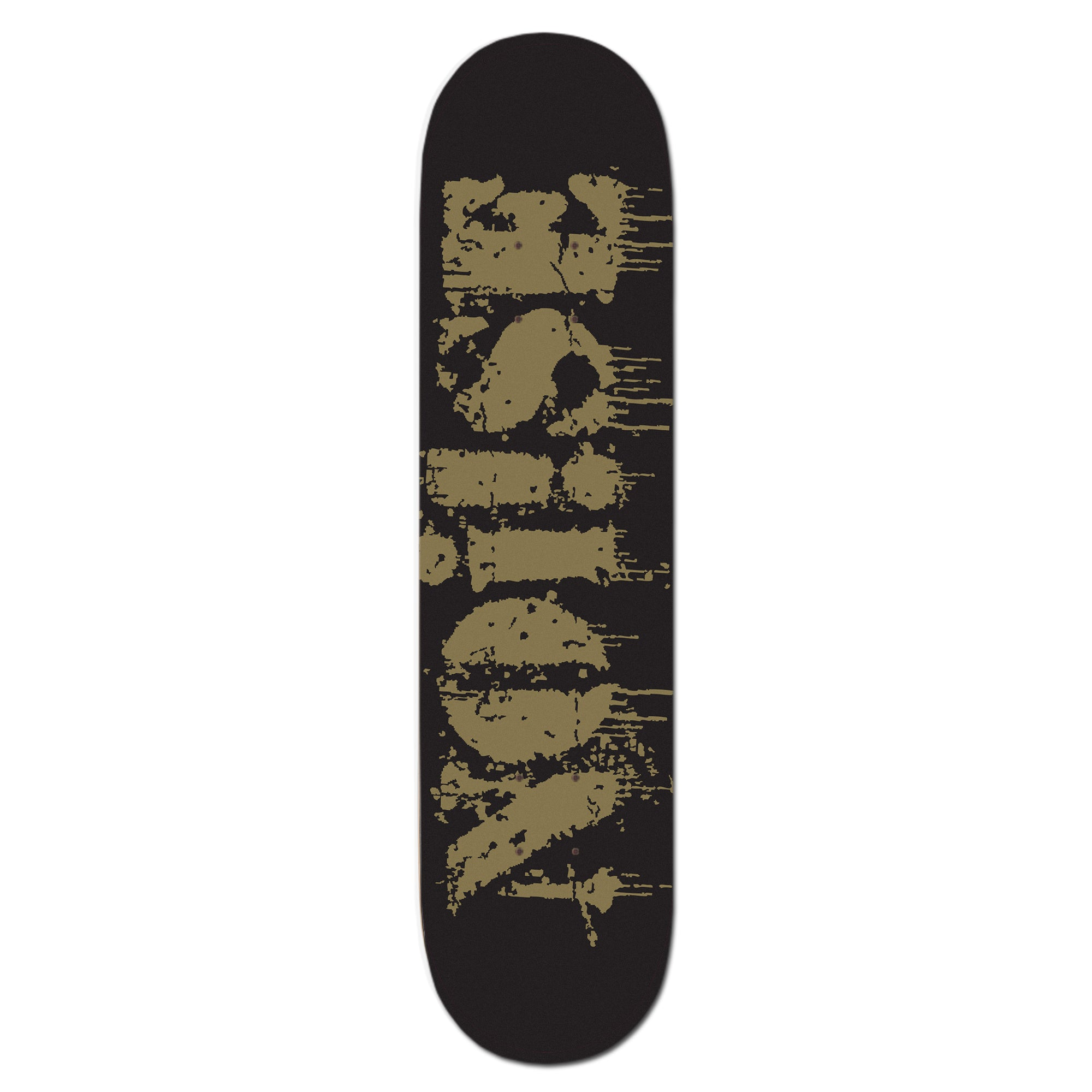 NOi!SE - Text Logo - Skateboard Deck