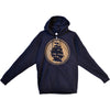 Pirates Press - Circle Logo - Navy - Zip-Up Hoodie