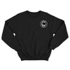 Pirates Press Records - Bottle - Patch - Black - Crewneck Sweatshirt