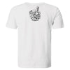 Pirates Press Records - One Family, One Flag - Black on White - 15 Year Tag - T-Shirt