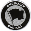 Pirates Press Records - One Family One Flag - Patch - Woven - 3.5""