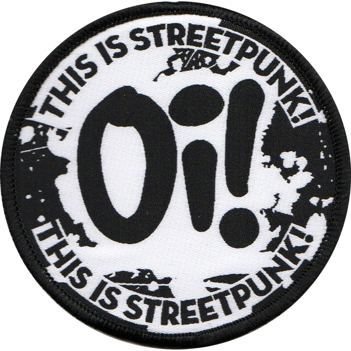 Oi! This is Streetpunk - Woven Patch - 3""