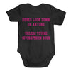 The Bar Stool Preachers - BSP Stencil - Pink on Black - Onesie