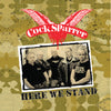 Cock Sparrer - Here We Stand LP / CD / DVD / Cassette