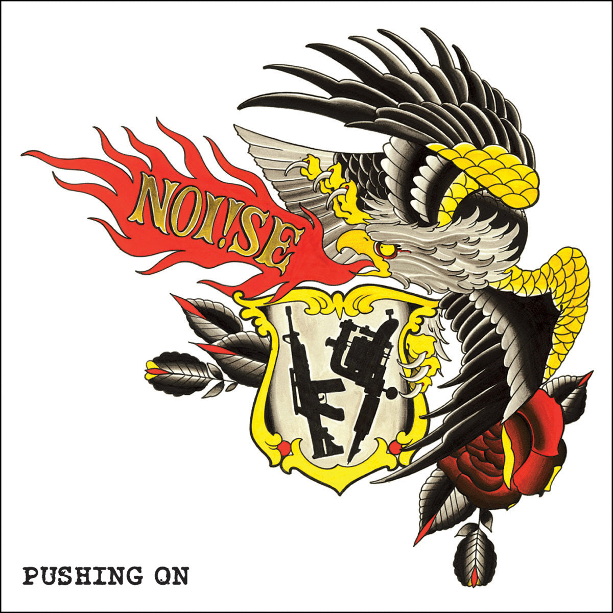 "Noi!se - Pushing On 12"" EP / CD"