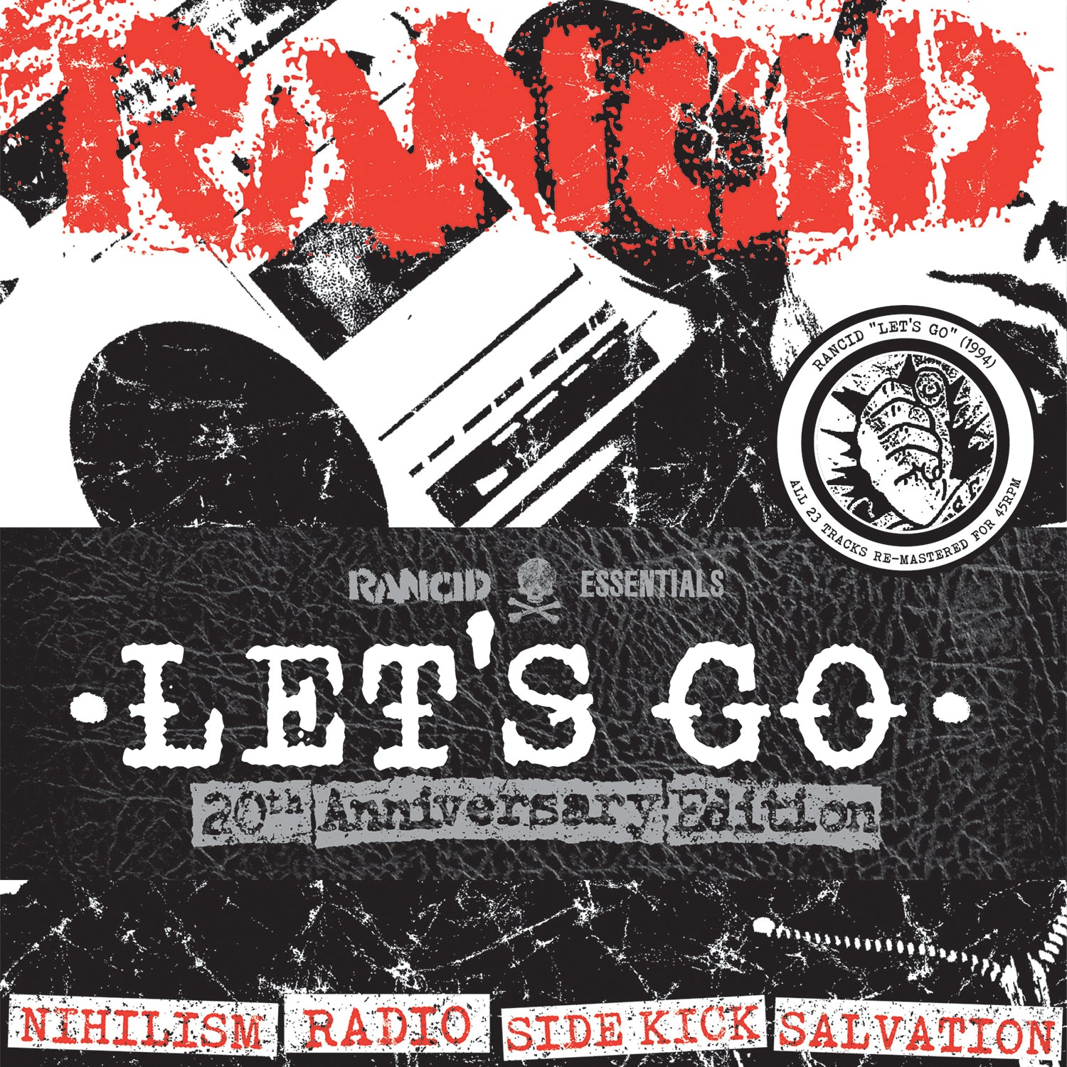 Rancid - Let's Go 5x7""