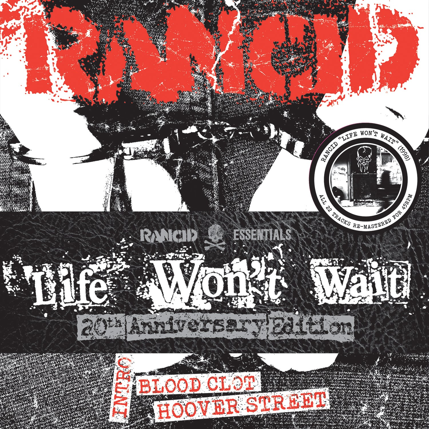 Rancid - Life Won't Wait 6x7""