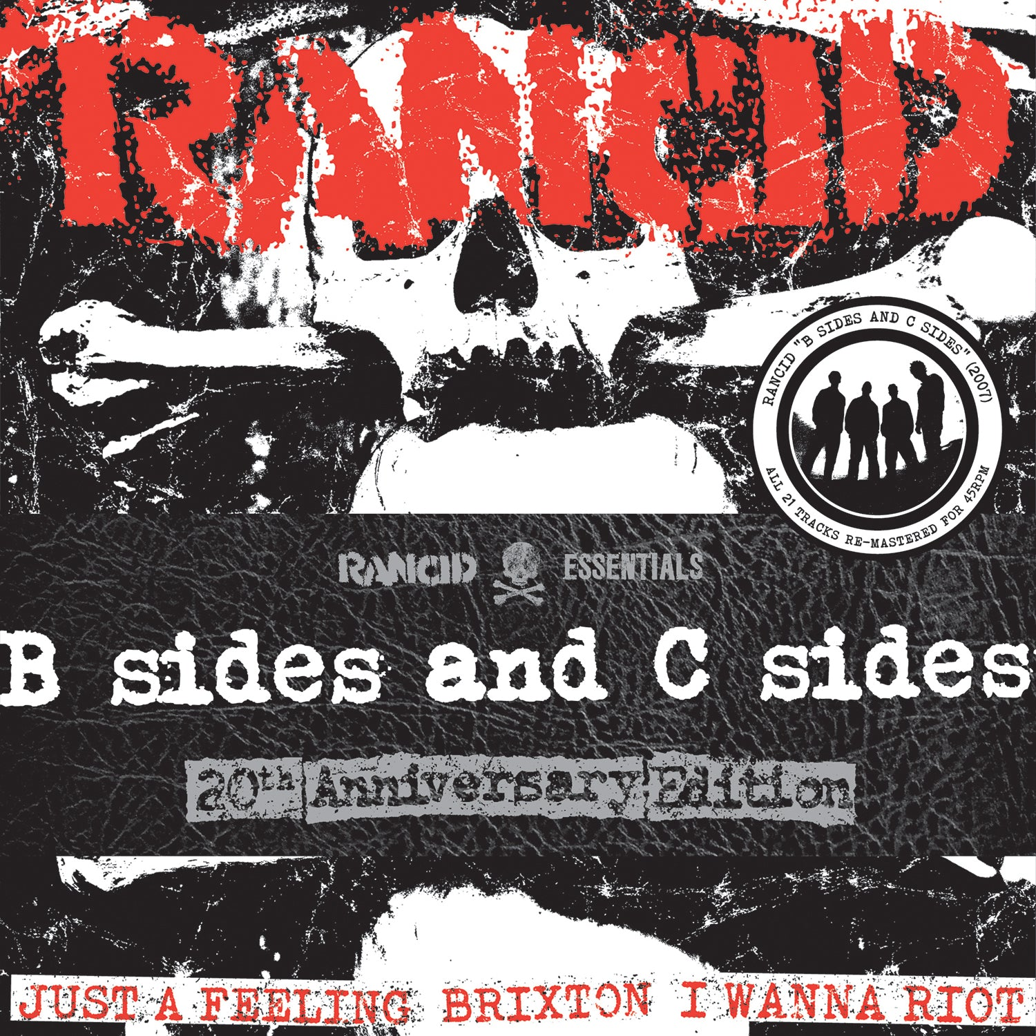 Rancid - B Sides and C Sides- 7x7""