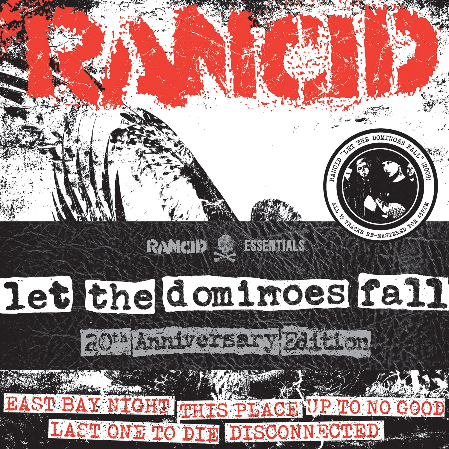 Rancid - Let The Dominoes Fall 8x7""