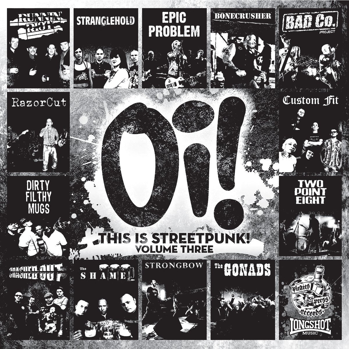 Oi! This Is Streetpunk! Vol 3 - LP