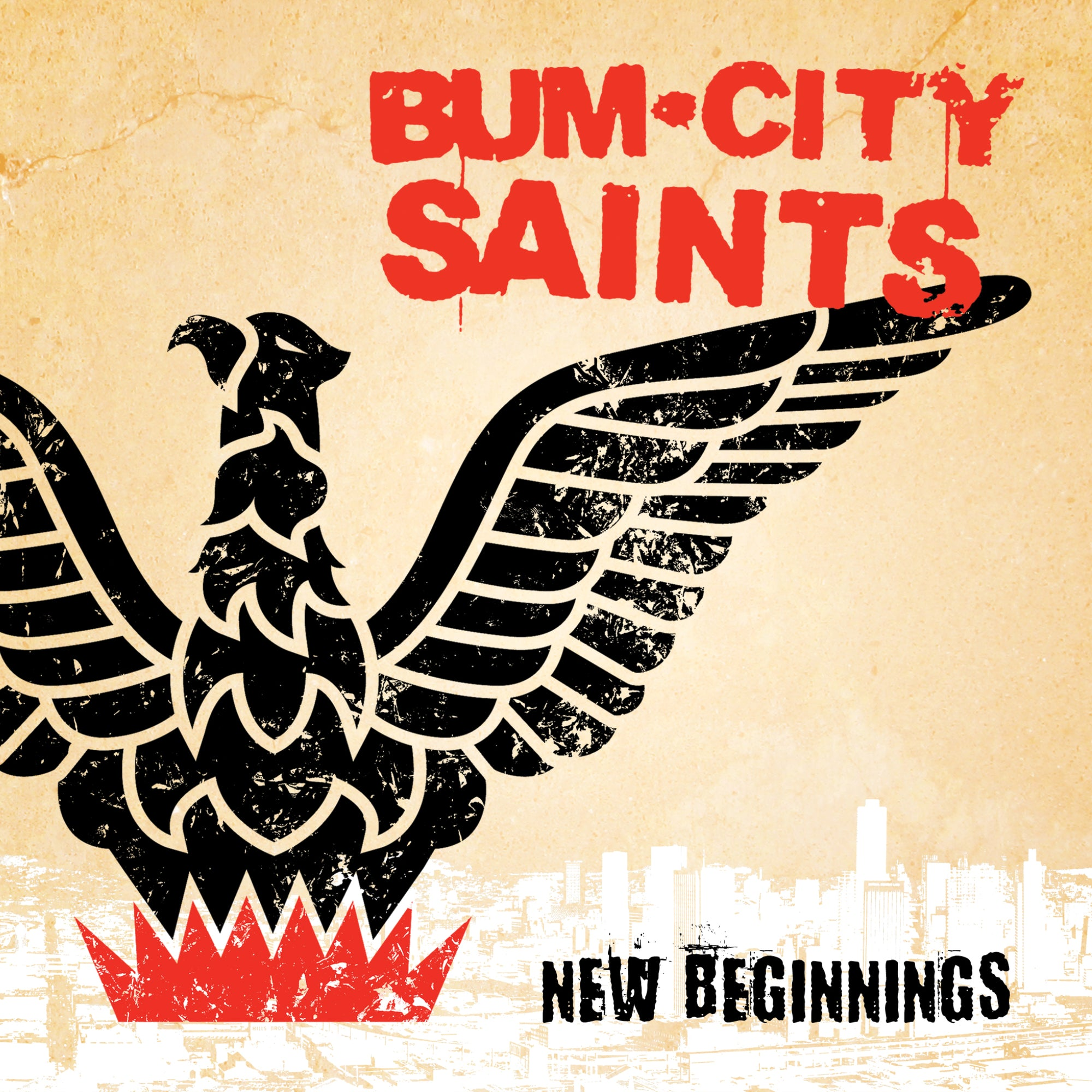 Bum City Saints - New Beginnings 7""