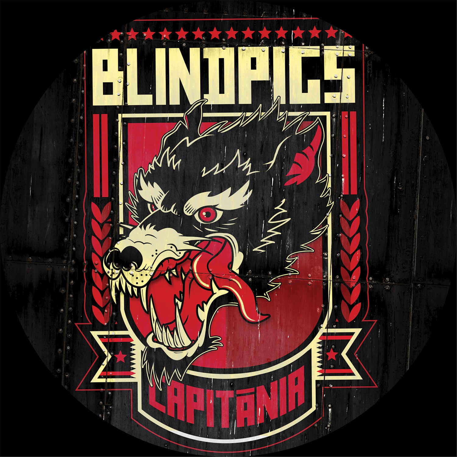 "Blind Pigs - Capitania 10"" Picture Disc"