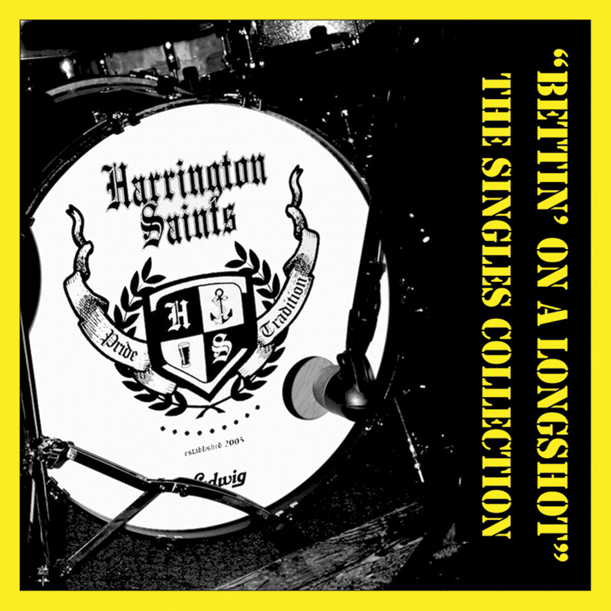 Harrington Saints - Bettin' On A Longshot LP / CD