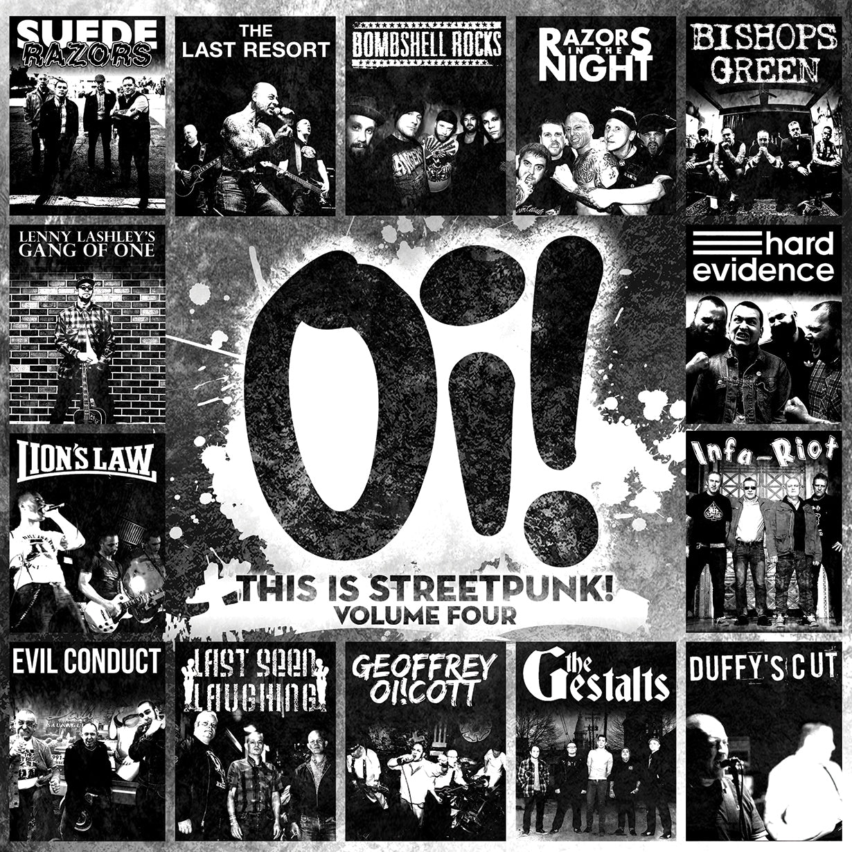 Oi! This Is Streetpunk! Vol 4 - LP