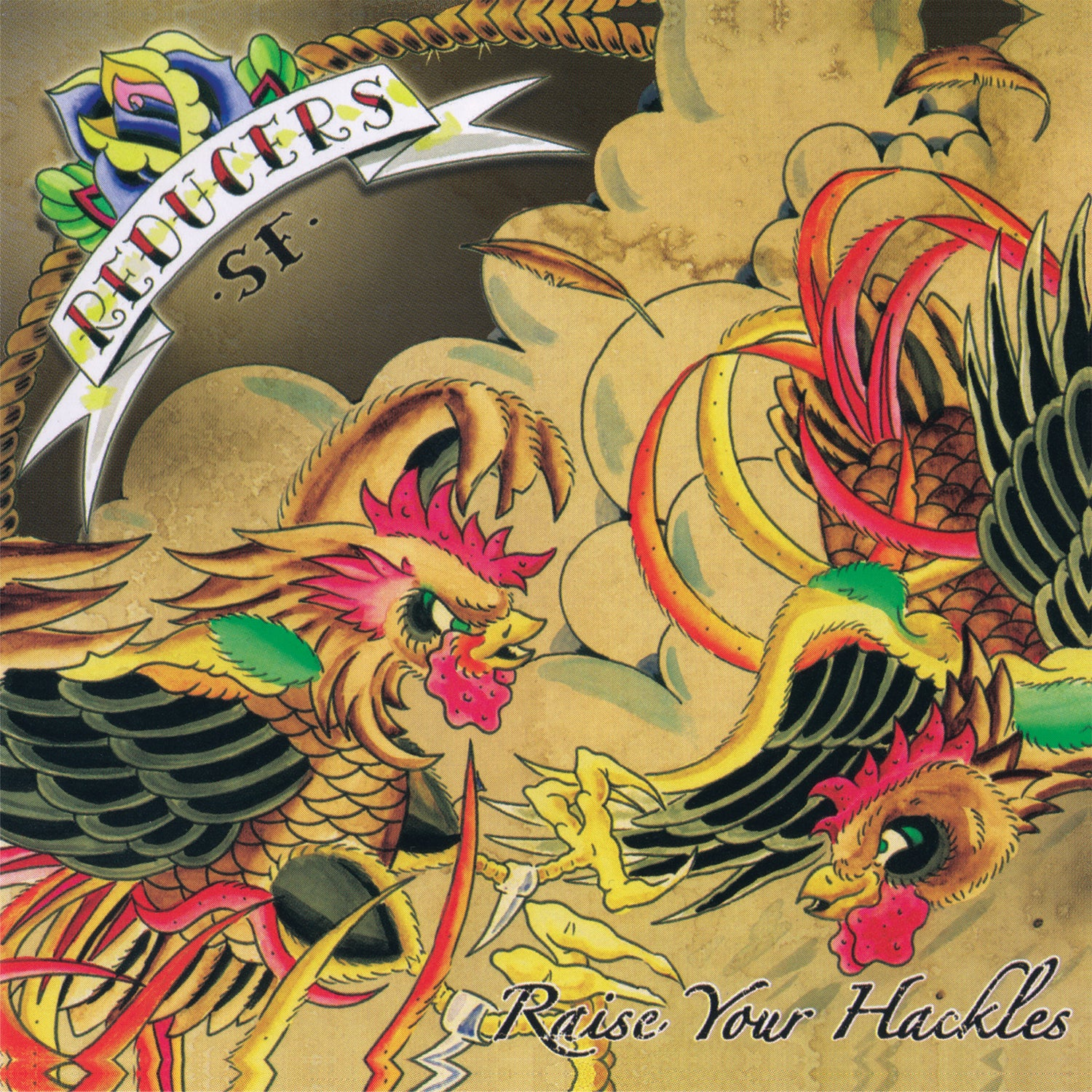 Reducers S.F. - Raise Your Hackles LP