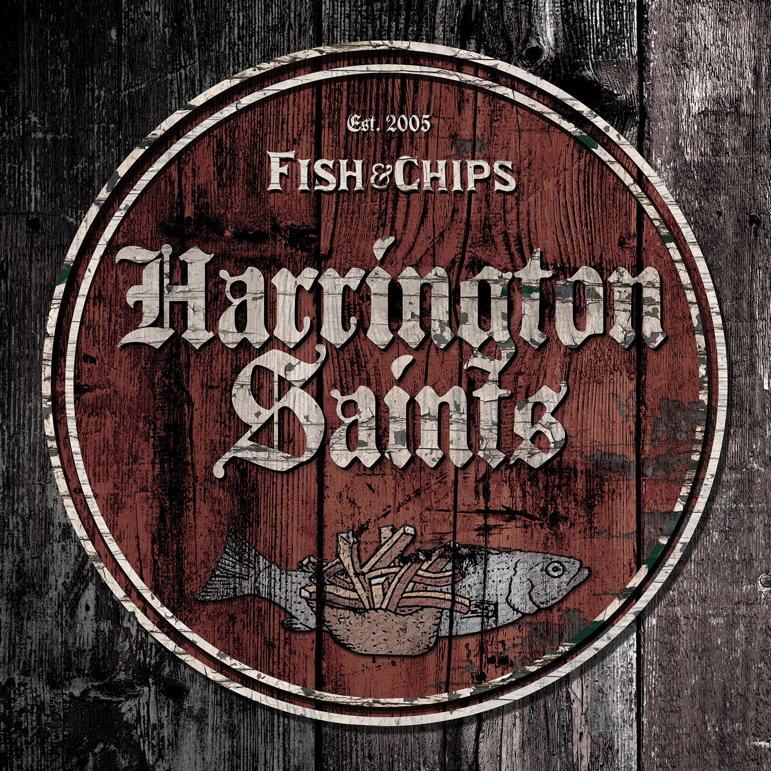 "Harrington Saints - Fish N' Chips 10"" EP"