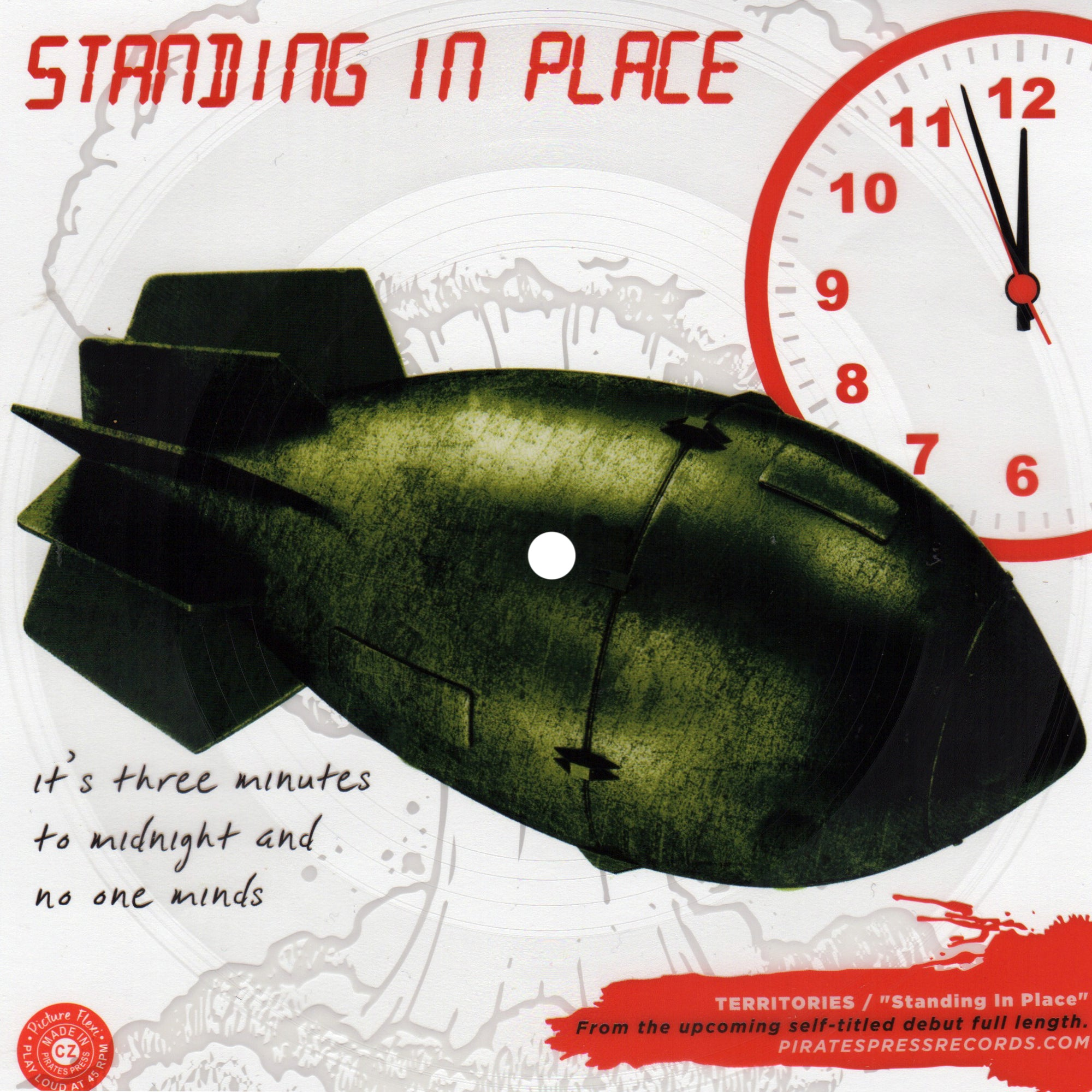 Territories - Standing In Place Flexi
