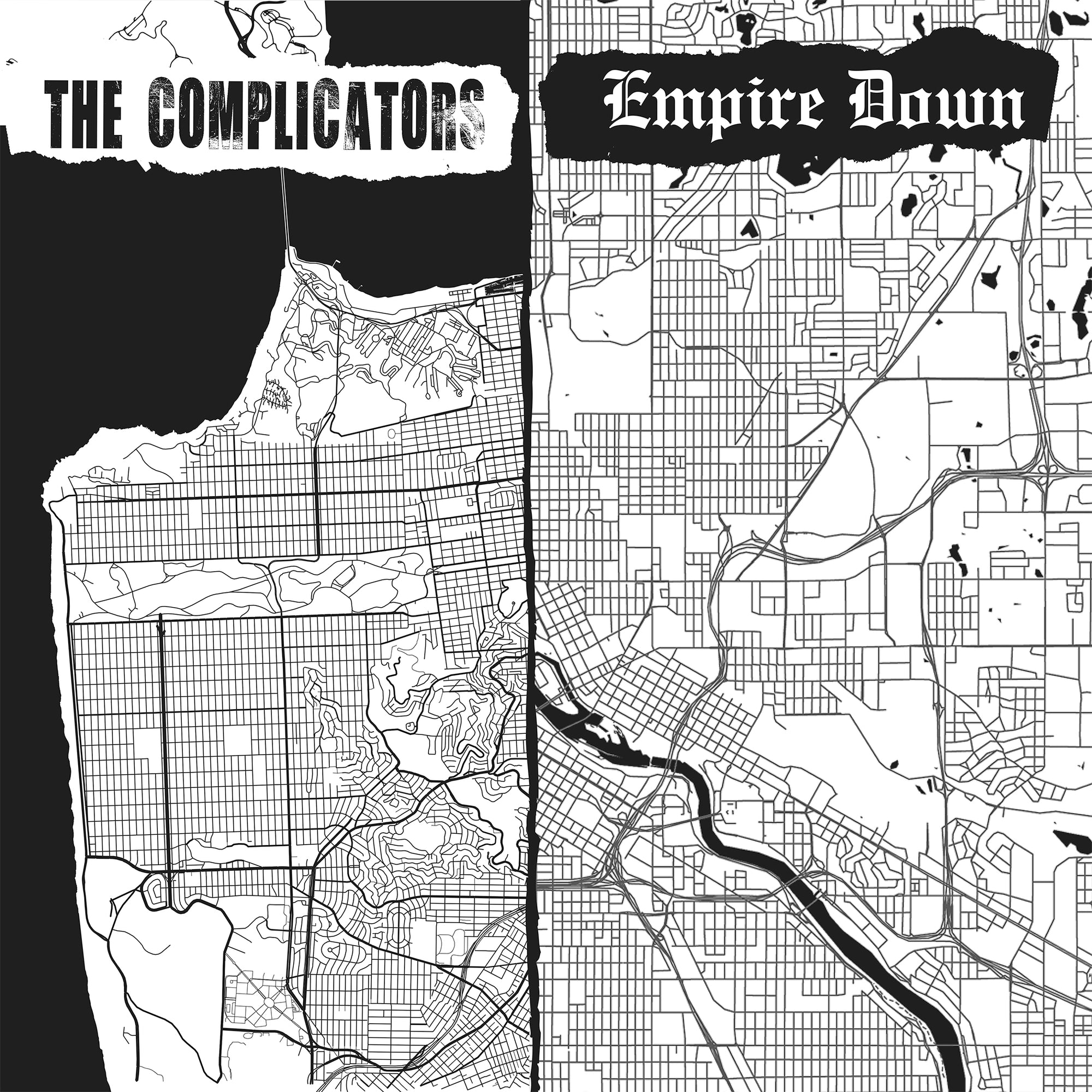 The Complicators / Empire Down - Split 7""
