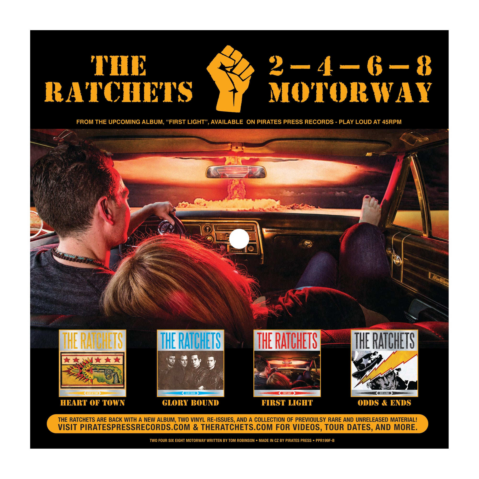 The Ratchets - 2-4-6-8 Motorway Picture Flexi
