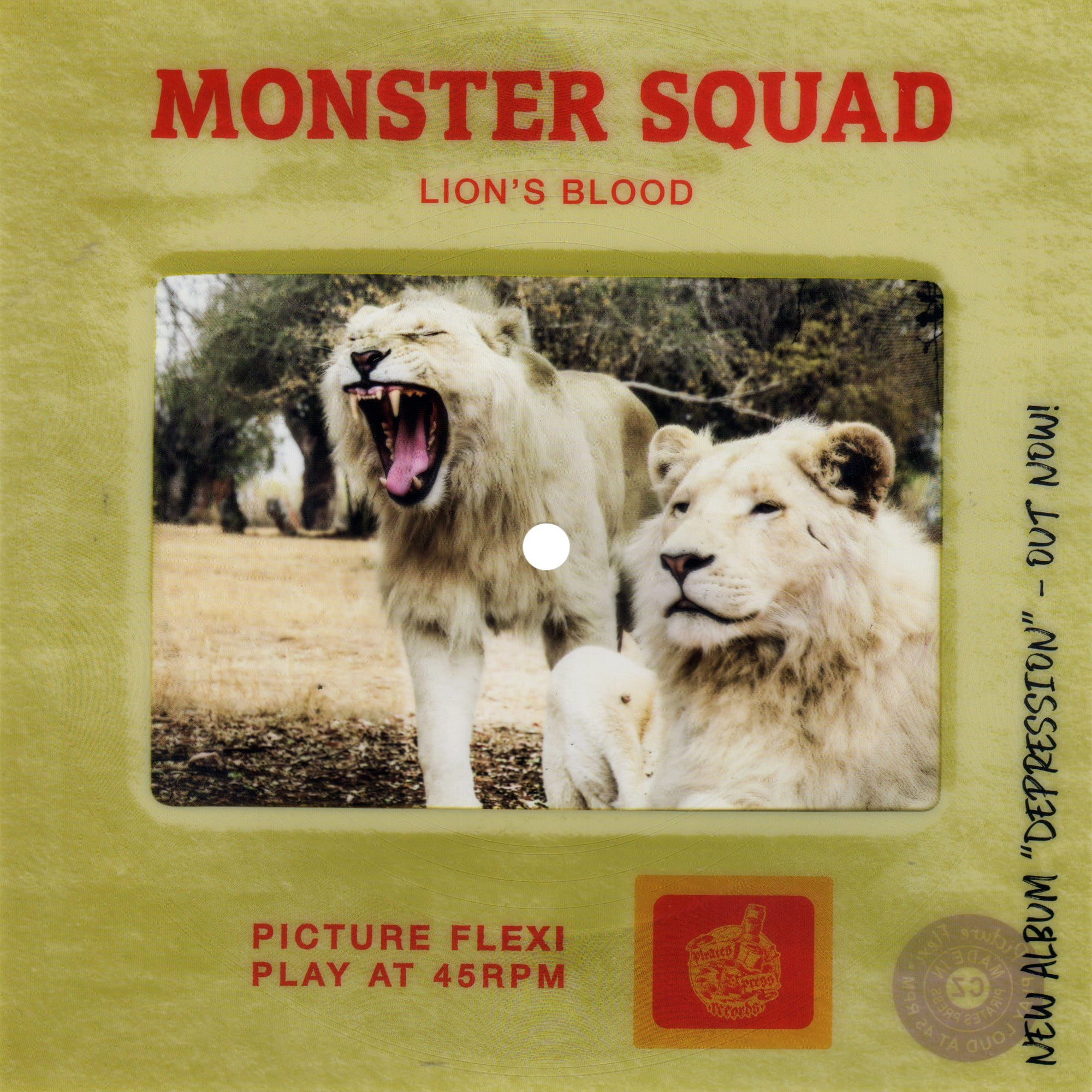 Monster Squad - Lion's Blood Picture Slide Flexi