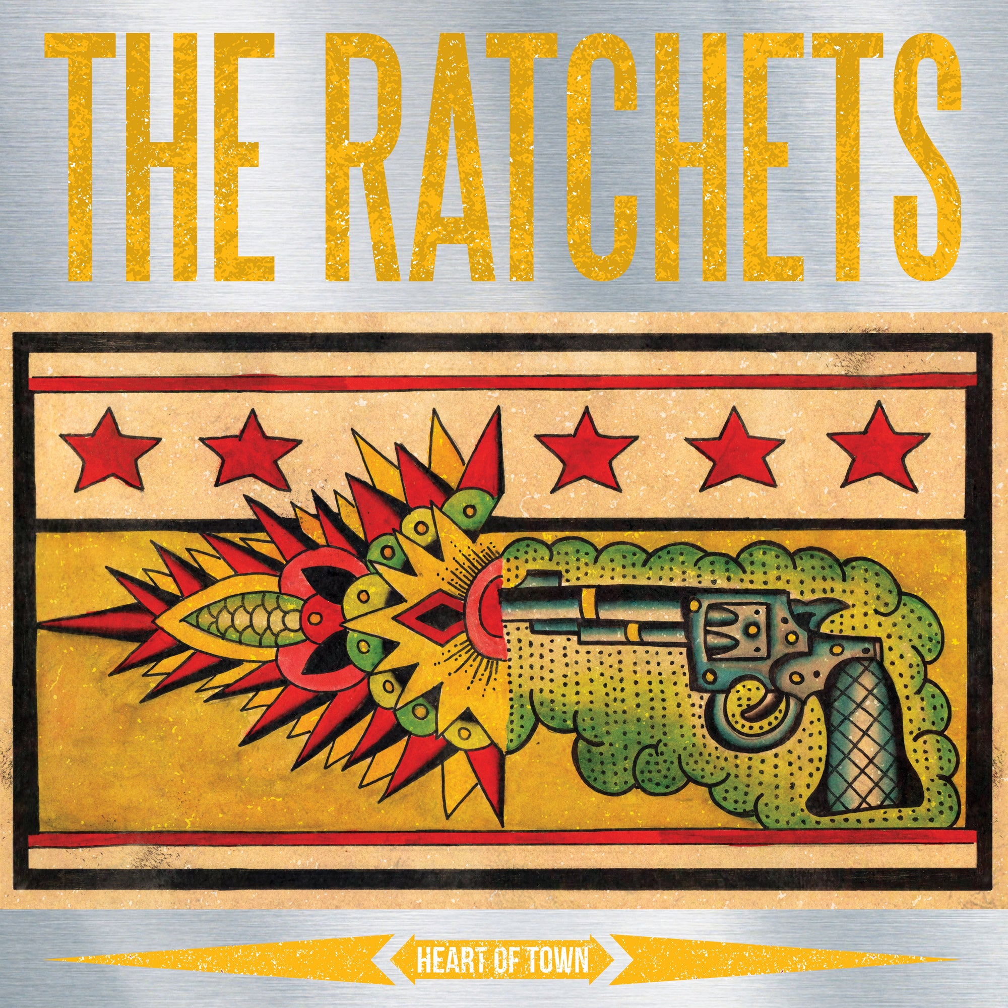 "The Ratchets - Heart of Town 12"" EP"
