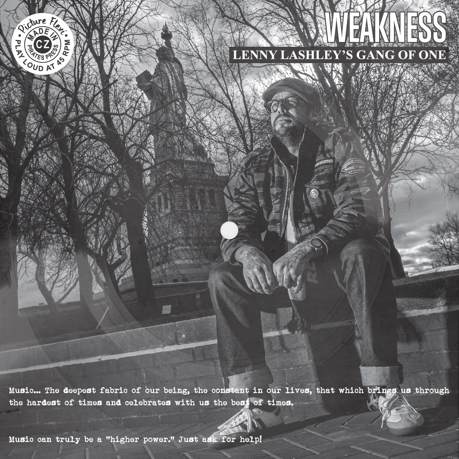 Lenny Lashley's Gang Of One - Weakness NA/AA Charity Promo Flexi
