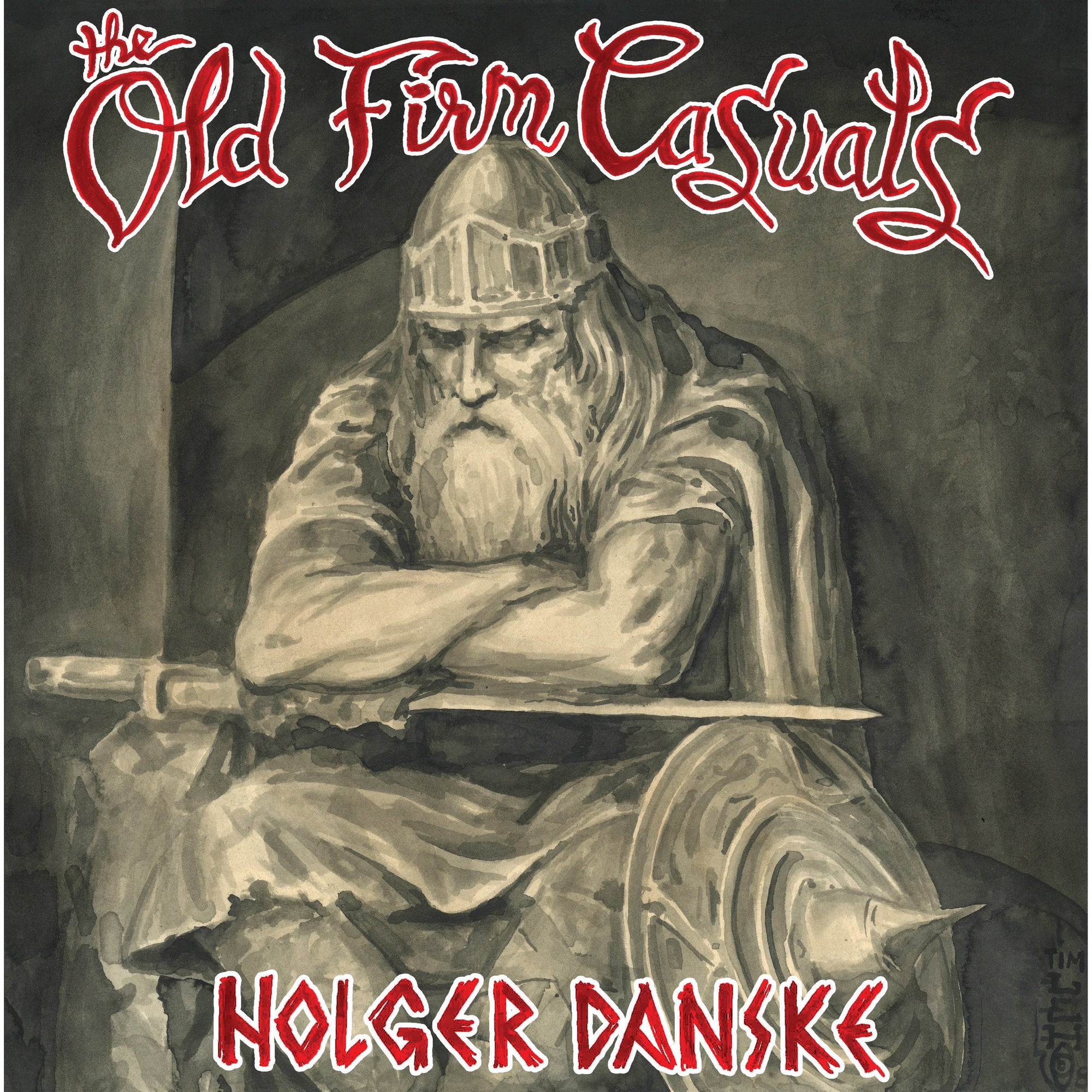 The Old Firm Casuals - Holger Danske LP / CD