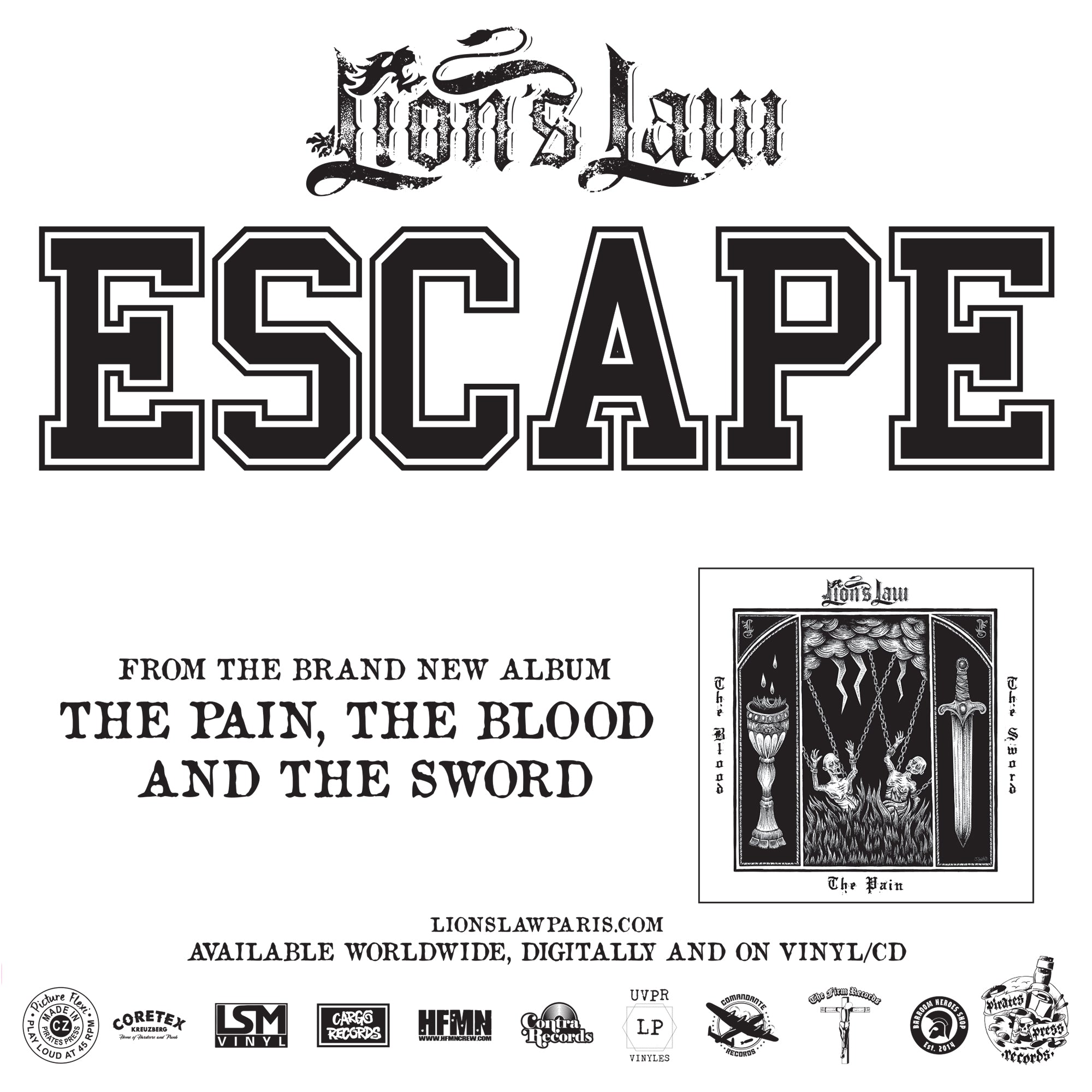 Lion's Law - Escape Flexi