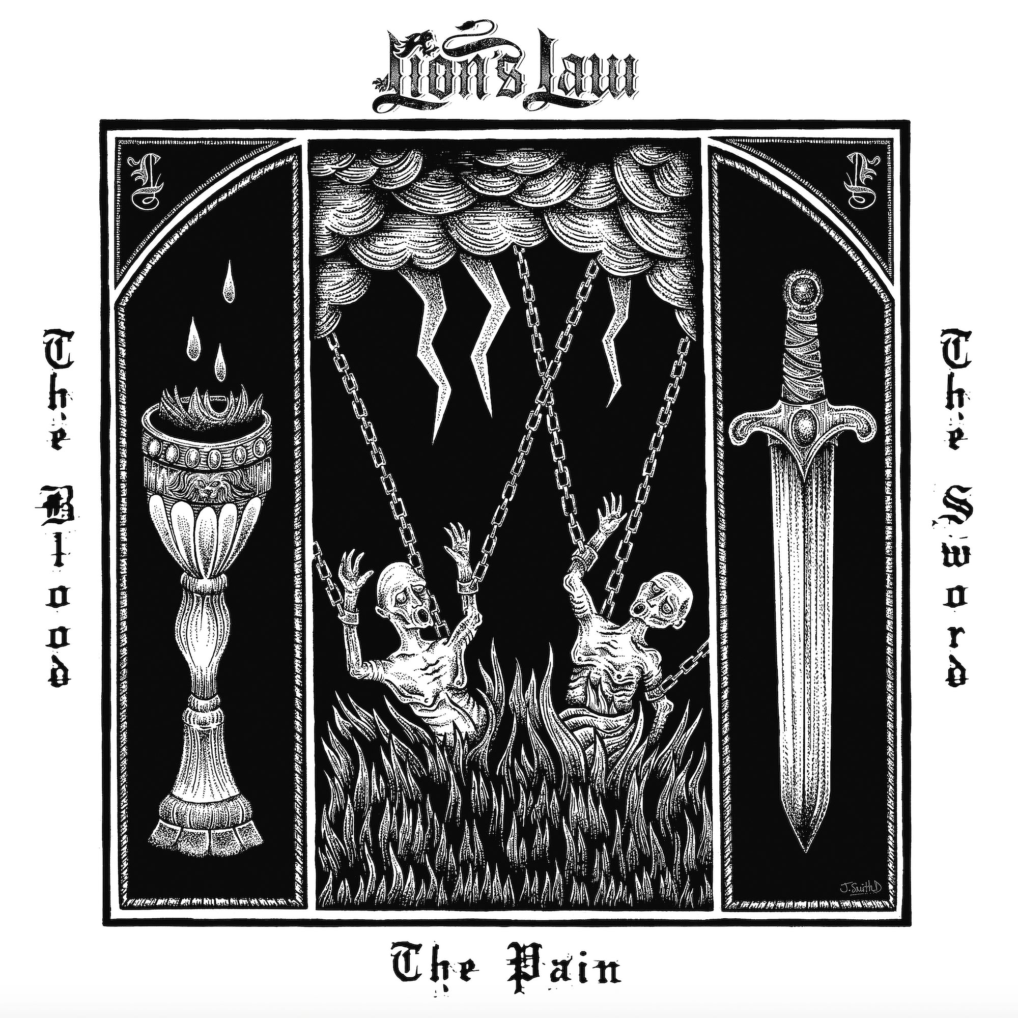 Lion's Law - The Pain, The Blood, and The Sword LP/CD
