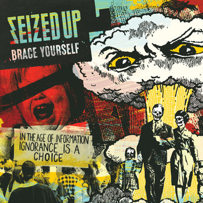 Seized Up - Brace Yourself LP