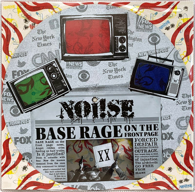 NOi!SE - Base Rage On The Front Page - 12""