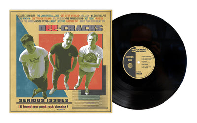 DeeCRACKS - Serious Issues LP