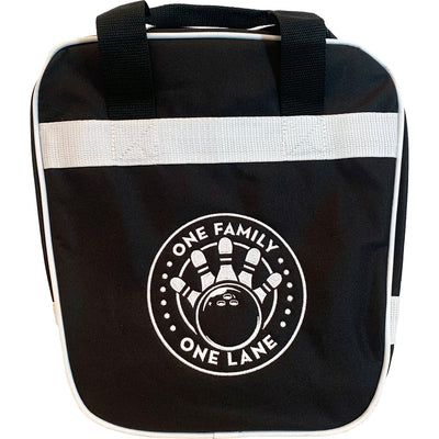 Pirates Press Records - One Family One Lane - Bowling Ball Bag