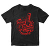 Pirates Press Records - Bottle - White on Black - T-Shirt