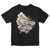 Pirates Press - Full Color Tattoo Ship - Black - T-Shirt