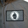 Pirates Press - Flag Logo - Windbreaker Jacket - Graphite
