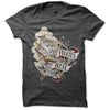 Pirates Press - Full Color Tattoo Ship - T-Shirt - Youth
