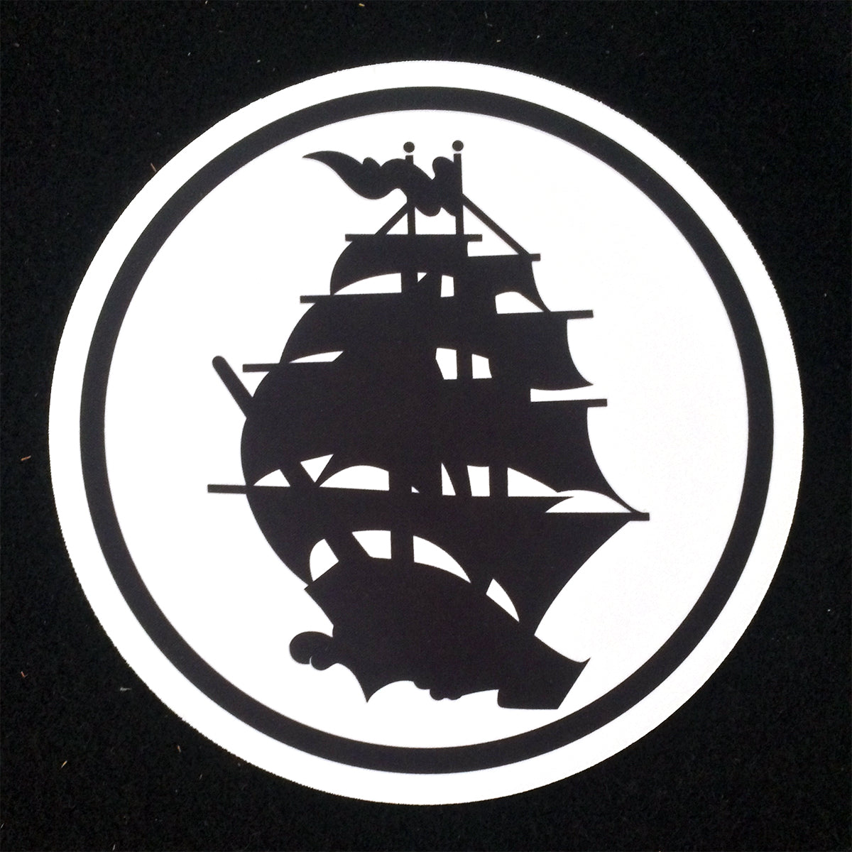 Pirates Press - Circle Logo - Mousepad